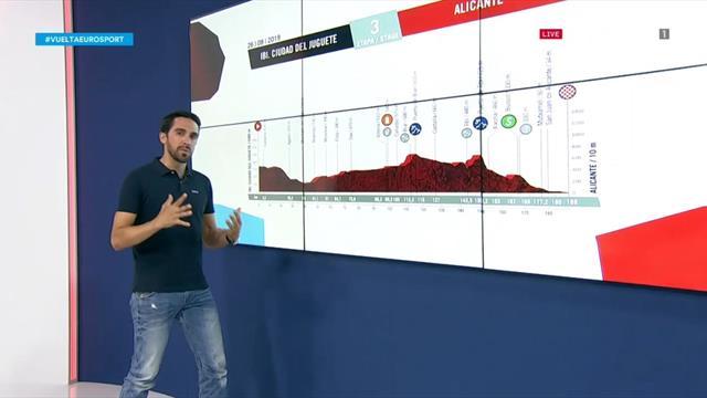 La predicción de Contador (3ª etapa): Etapa 'juguetona' para esprínters