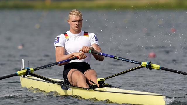 Ruder-Weltmeister Zeidler: Karriereende nach Olympia?