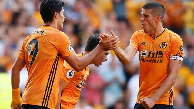 Wolves pounce in stoppage time to rescue point