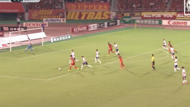 Goal! But! Tor! - Jo sauve l'honneur pour Nagoya Grampus