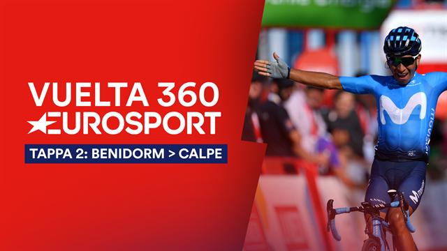 """""""Vuelta 360"""", tappa 2: No volata, a Calpe vola Nairo Quintana! Roja a Nicolas Roche y mañana..."""