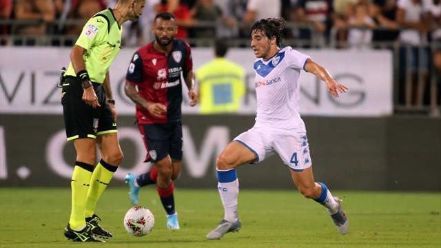 Brescia, Balotelli è una furia: espulso per un 'vaffa' all'arbitro