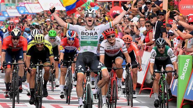 Tutto facile per Sam Bennett: la prima volata della Vuelta è sua! Roche resta in rosso
