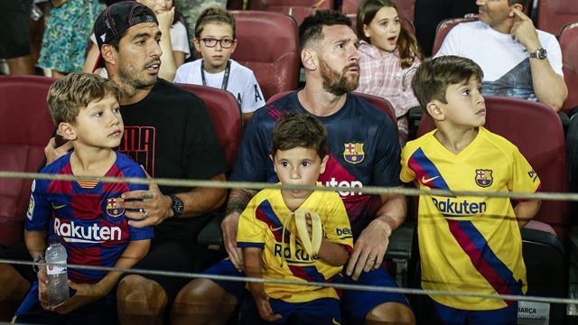 Fan du Real et de Liverpool, le fils de Messi a refait des siennes au Camp Nou