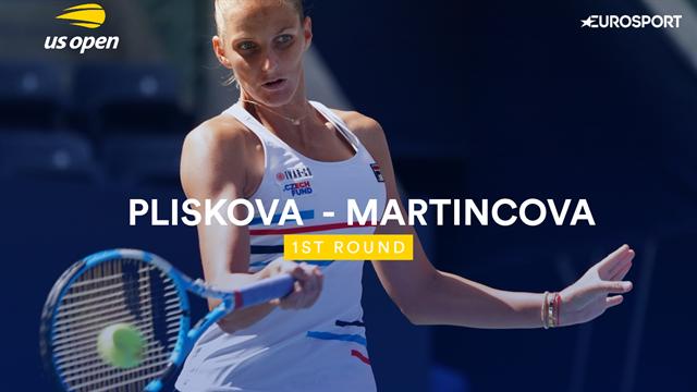 US Open samenvatting | Pliskova - Martinkova