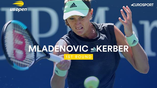 US Open samenvatting | Mladenovic - Kerber
