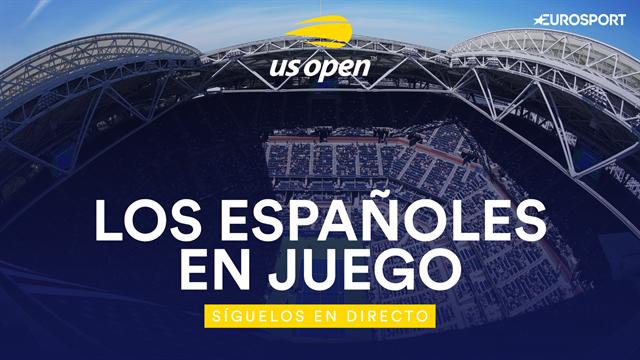 US Open 2019: Así fue la jornada para los españoles en el día 2