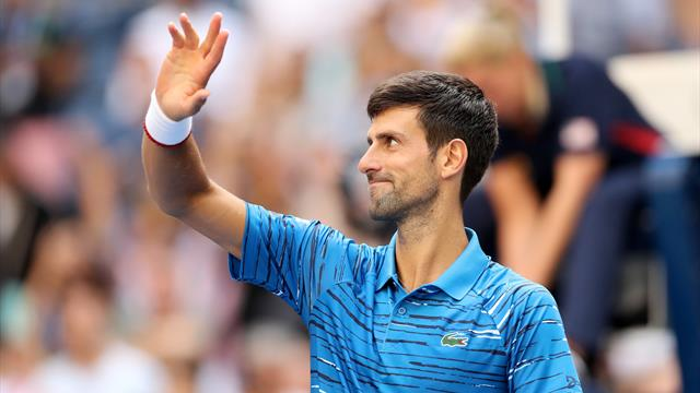 Djokovic moves into US Open second round with masterful performance