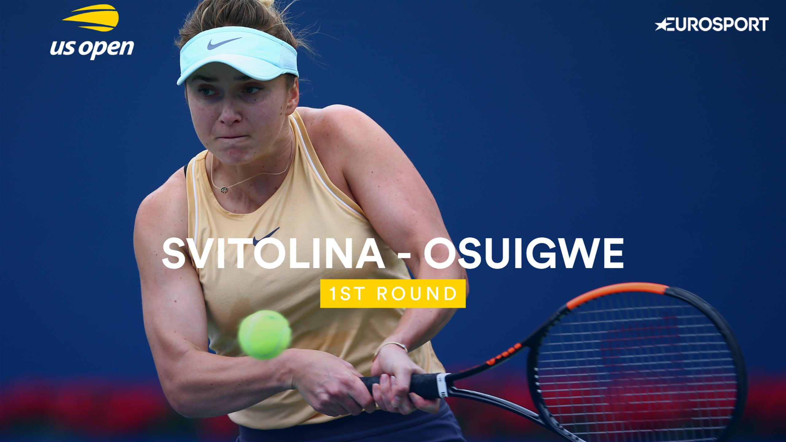 Обзор матча Элина Свитолина - Уитни Осигве на US Open (ВИДЕО)