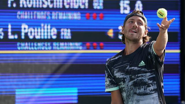 Lucas Pouille qualifié pour le deuxième tour de l'US Open