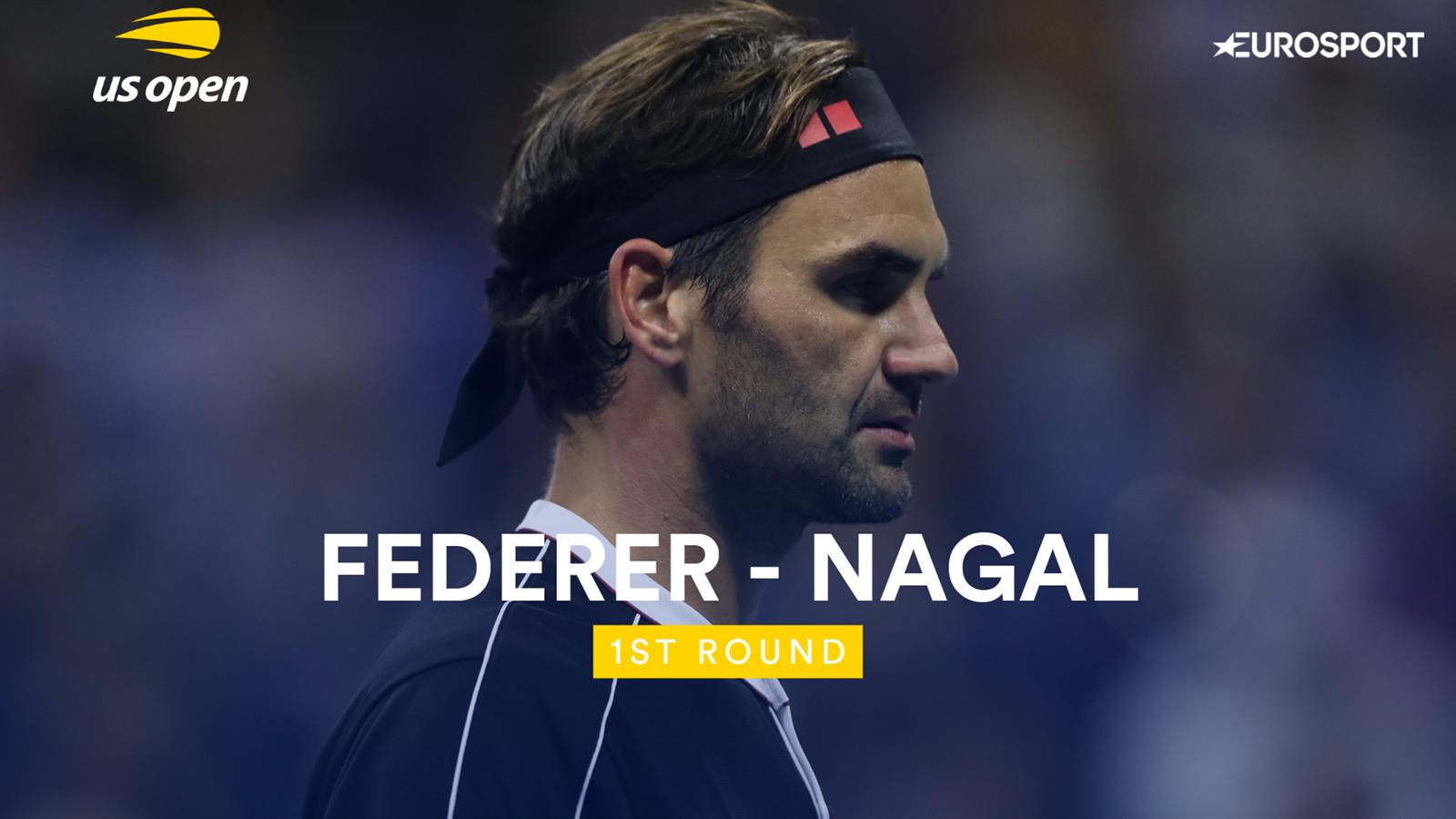 Samenvatting Roger Federer - Sumit Nagal (US Open)