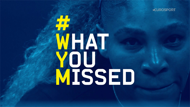 US Open2019: Lo que te perdiste el primer día con Djokovic, Federer y el Serena-Sharapova