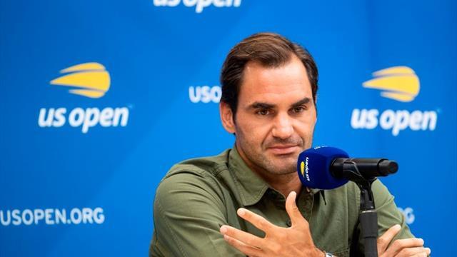 """""""J'en ai marre d'entendre ces conneries"""" : Federer énervé par les questions sur la programmation"""