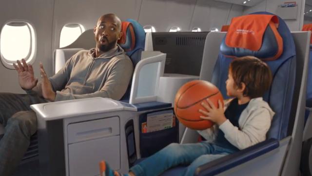 Брайант снялся в рекламе «Аэрофлота» перед Кубком мира в Китае