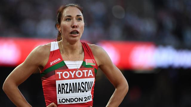 Arzamasova contrôlée positive et suspendue