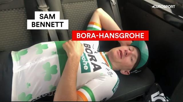Behind the scenes with Bora Hansgrohe after Sam Bennett's brilliant Vuelta stage win