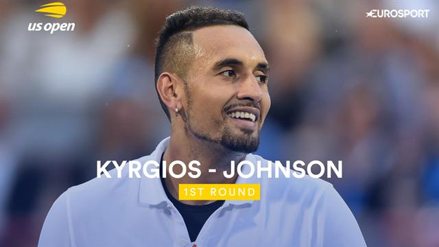 Quand Kyrgios joue comme ça... Les temps forts de sa victoire sur Johnson