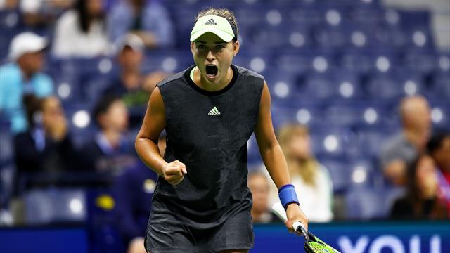 Калинская обыграла Стивенс. Это ее первая победа над теннисисткой из топ-10