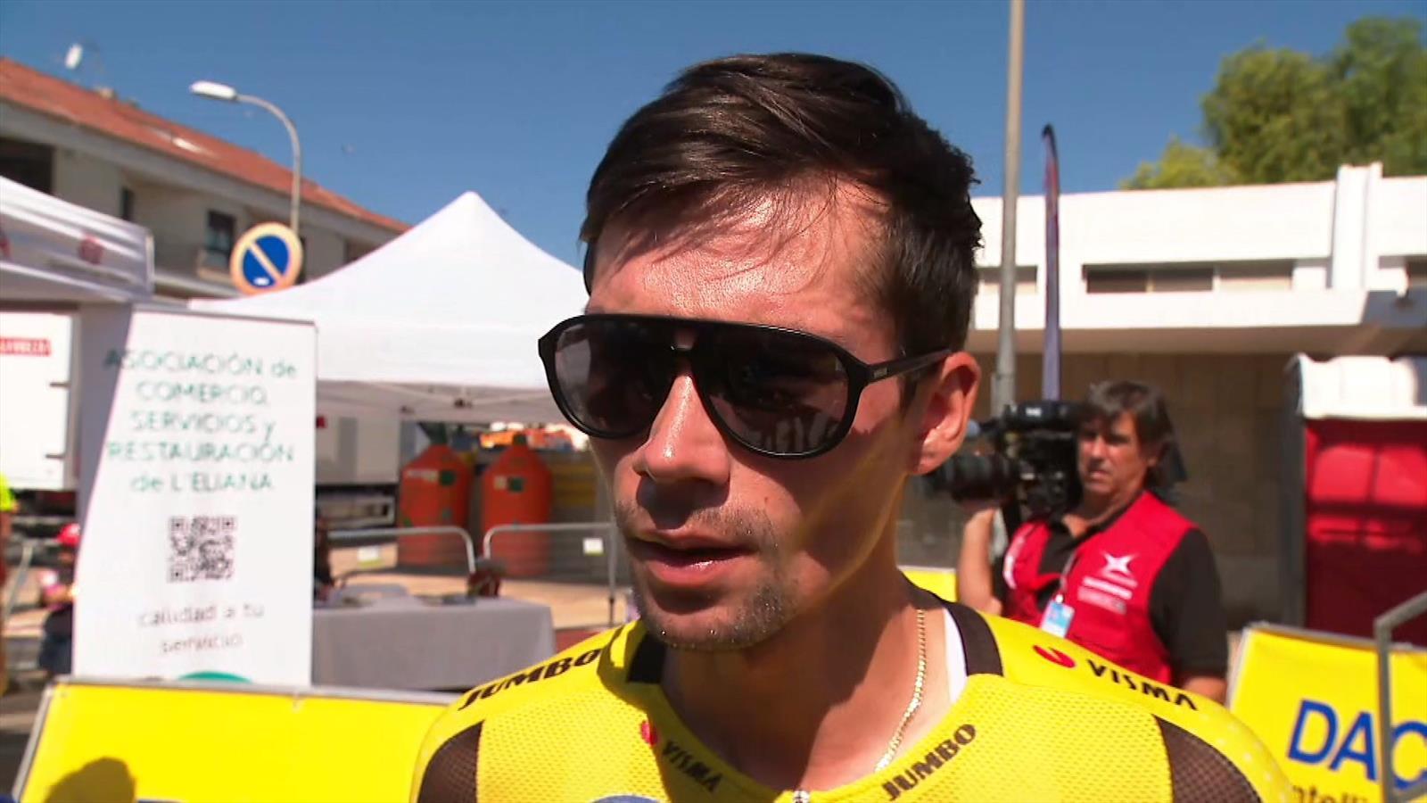 """Primoz Roglic betreurt afstappen Steven Kruijswijk: """"Niet goed voor het team"""""""