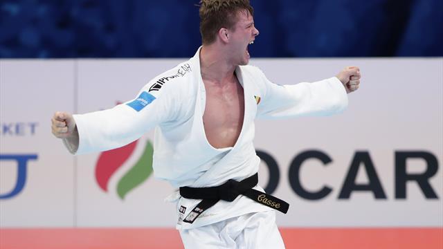 WK Judo | Matthias Casse grijpt naast goud