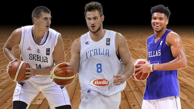 Antetokounmpo, Gallinari, Jokic: i 10 giocatori da seguire al Mondiale in Cina