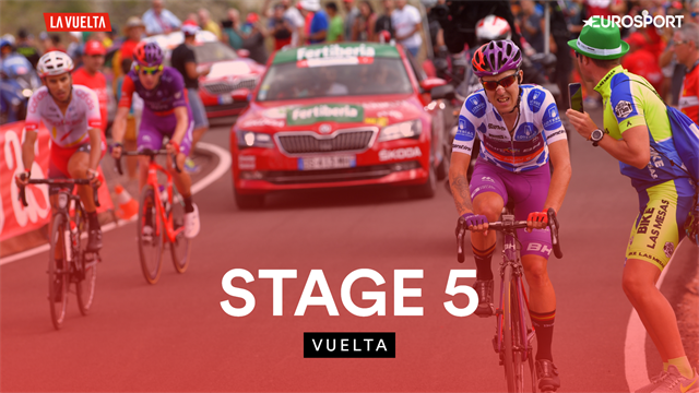 Highlights - Shock stage win and big GC moves as La Vuelta hots up