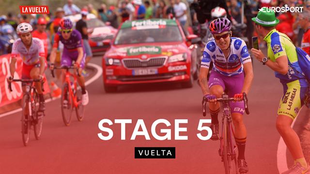 Samenvatting etappe 5 Vuelta - Jetse Bol in de aanval