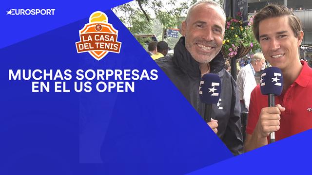 US Open 2019, la Casa del Tenis: Arenas y Corretja analizan todas las sorpresas de los primeros días