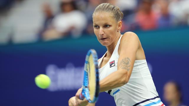 Première qualifiée pour le 3e tour, Pliskova s'est rassurée