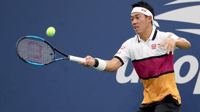 Des hauts et des bas mais Nishikori s'en sort en quatre sets face à Klahn