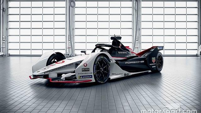 Gallery: Check out Porsche's new Formula E cars from all angles