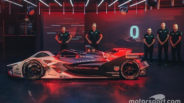 Porsche reveals 99X Electric 2019/20 FE car
