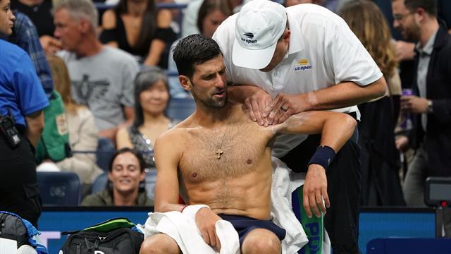 Overnight: Djokovic survives injury scare to advance at U.S. Open