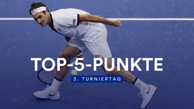 Top-5-Punkte: Federer brilliert mit letzter Kraft