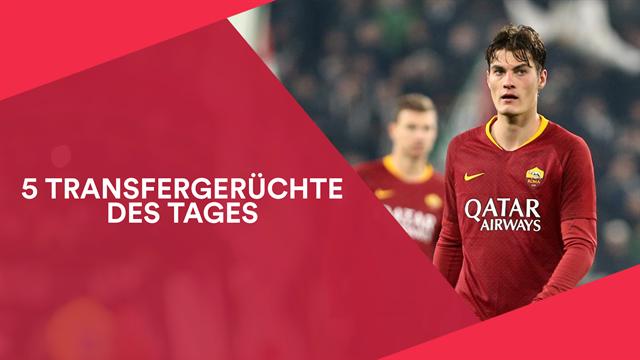 Bundesliga-Trio an Roma-Stürmer Schick dran