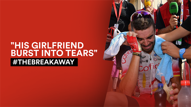 #TheBreakaway: Emotion spills out as Herrada triumphs at last