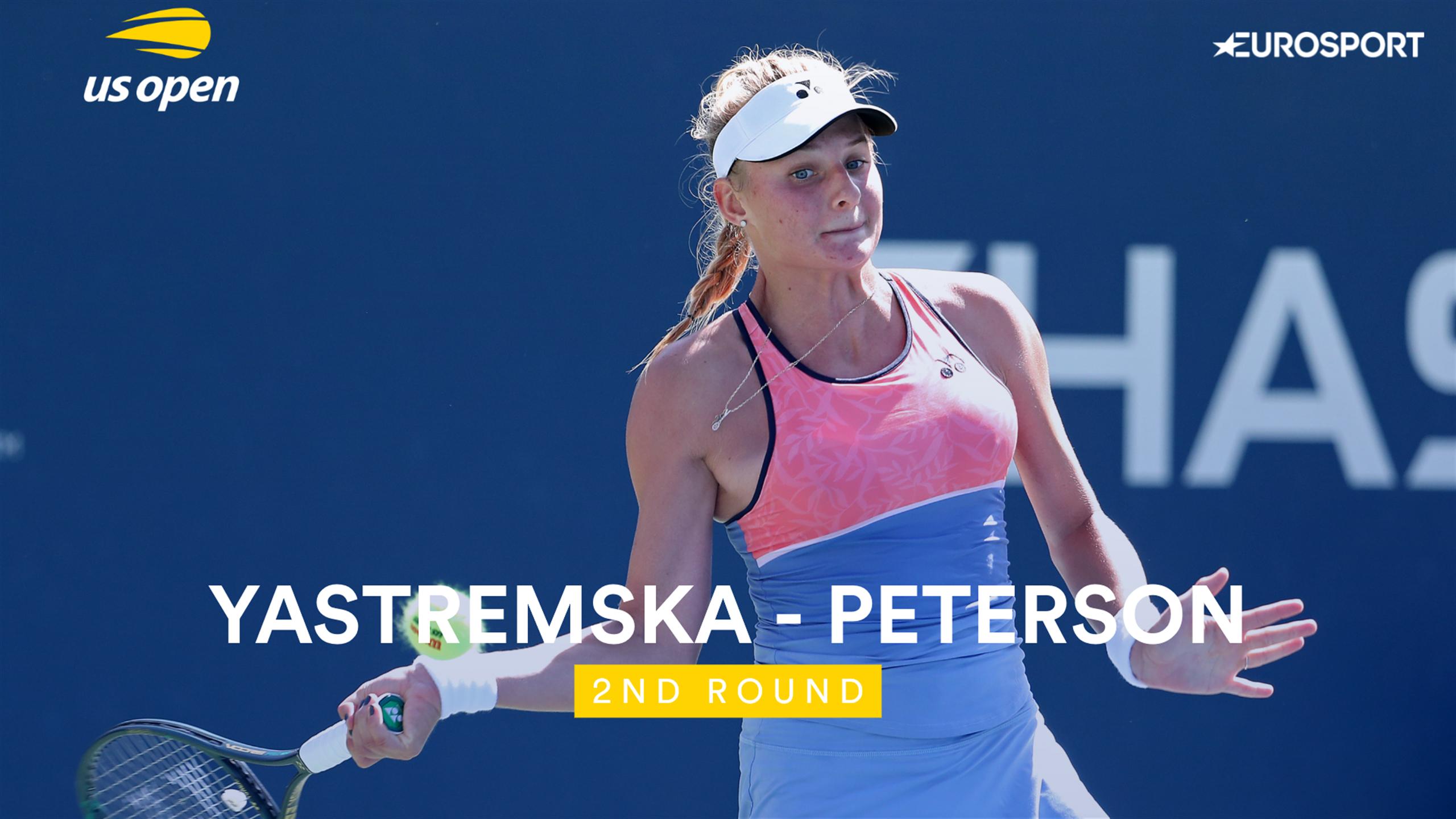 Обзор матча Даяна Ястремская - Ребекка Петерсон на US Open (ВИДЕО)