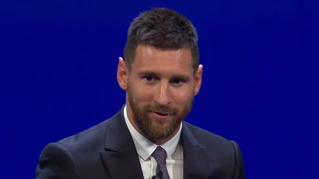 «Всегда стараюсь совершенствоваться и выходить на новый уровень». Речь Месси на премии УЕФА