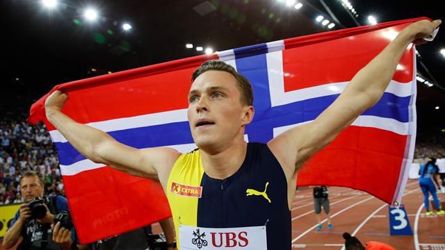 Ligue de diamant : Warholm s'impose sur 400 m haies et signe le 2e meilleur chrono de l'histoire