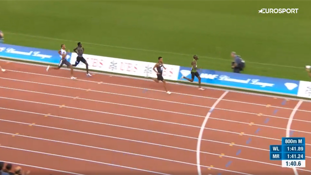 From a potential world record to not even second - Drama in the 800m