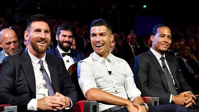 'Not yet!' - Ronaldo jokes about Messi dinner