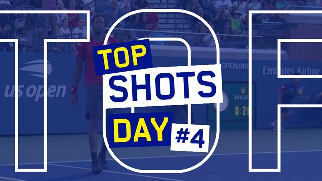US Open | De top-5 mooiste punten van dag 4