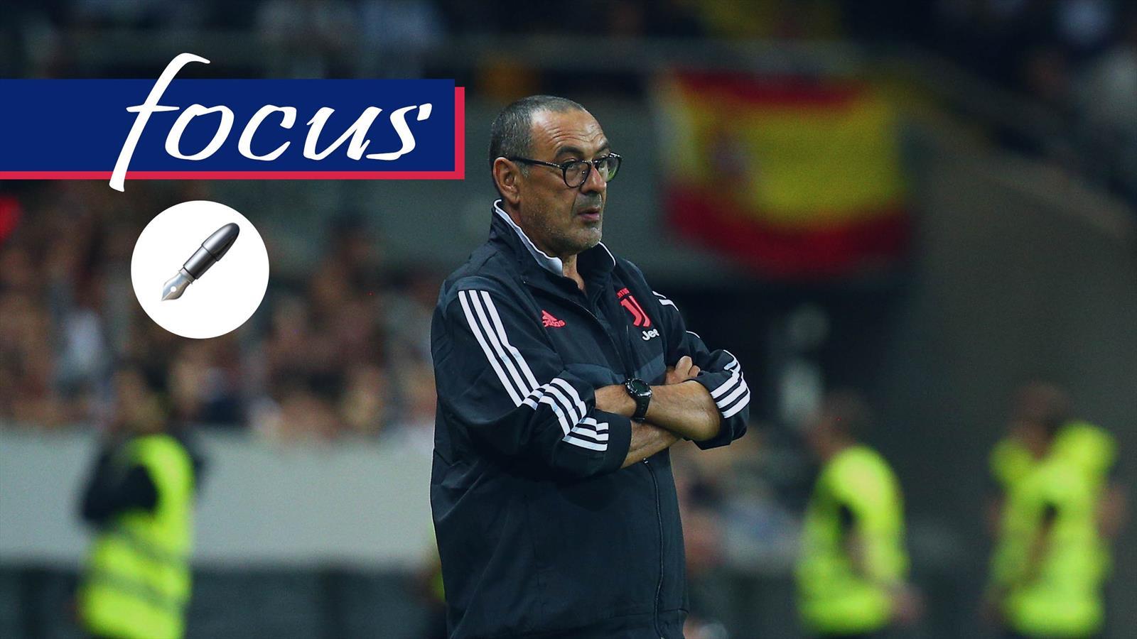 Juventus-Napoli nel segno di Sarri (comunque): troppo presto ma ...