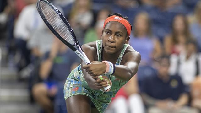 Gauff becomes youngest player to reach third round since Kournikova