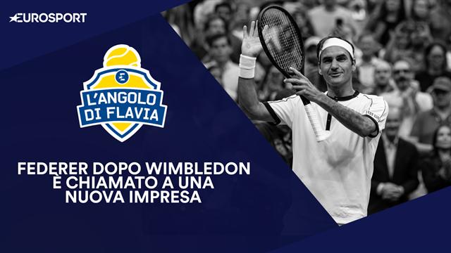 """L'Angolo di Flavia: """"Federer mi ha fatto piangere, ma ora può vincere a New York"""""""