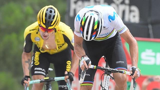 Ciclismo, Vuelta: Roglic vince la decima tappa e conquista la maglia rossa