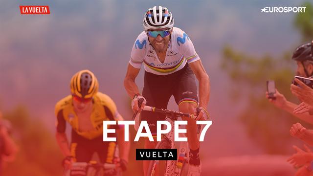 Maillot rouge lâché, quatuor de costauds et Valverde intouchable : le résumé de la 7e étape