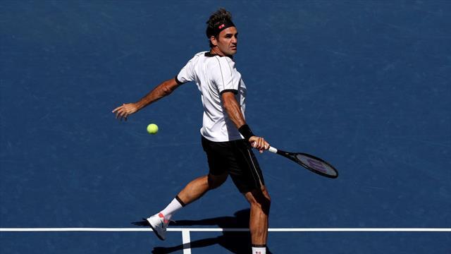 """""""Wirklich genossen"""": Federer in nur 79 Minuten im Achtelfinale"""
