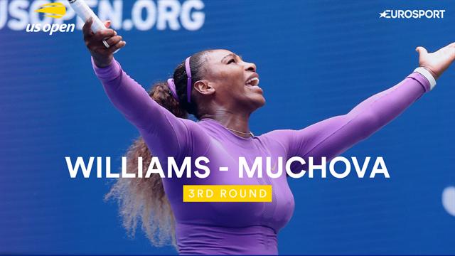 Cinq jeux perdus, du bon tennis : Serena a carburé au super pour écarter Muchova