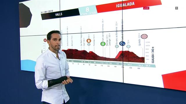 La predicción de Contador (8ª etapa): Posible final para esprinters tras una subida que puede marcar